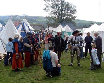 Egremont Medieval Festival May 2002