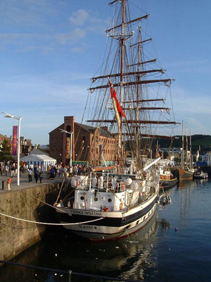 Each year tall ships visit Whitehaven check out the Maritime Festivals links