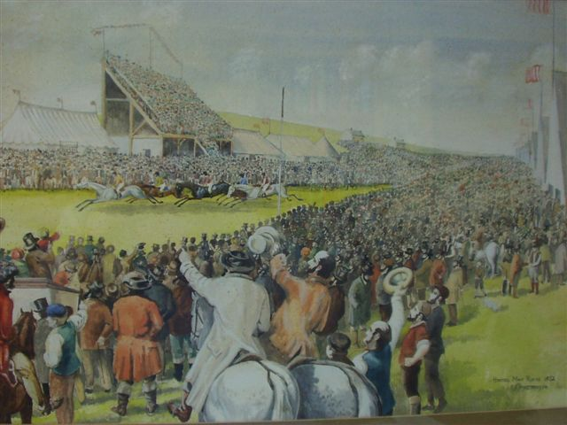 Racecourse at Harras Moor