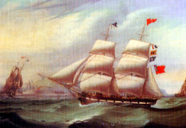 whitehaven sailing ship